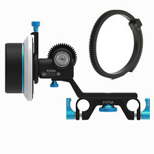 FOTGA DP500III Follow Focus for 15mm Rod DSLR Camera Rig 5D3 A7S A7R A7 II BMPCC