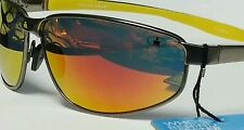 Foster Grant Ironman Proactive Sunglasses with Revo Lenses Spring Hinges Gold
