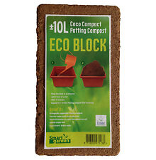 Potting Soil Compost Expands To 10L Coconut Coir For Plants Flowers And Seeds