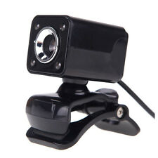 USB 2.0 12 Megapixel HD Camera Web Cam with MIC Clip-on Night Vision 360 De S6E2