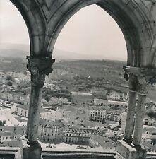 PORTUGAL c. 1950 - Panorama depuis le Château de Leiria - DIV 9253