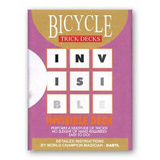 Carte Bicycle Invisibile - Invisible Deck Red