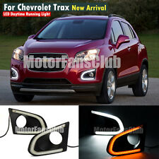 Luci Diurne LED Daytime Fari DRL Per Chevy Chevrolet Trax 2013 2014 15 Indicator