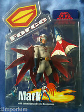 BATTLE OF THE PLANETS Action Figure - 'Mark' (2002 Sealed) G-Force Gatchaman