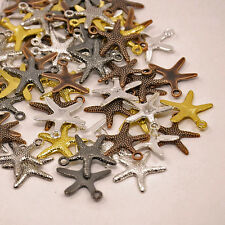 Starfish Charms Pendants Assorted Charms Nautical Ocean Charms 10pcs