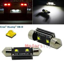 White Error Free 10W 36mm 6411 C5W CREE LED Bulb For License Plate Number Lights