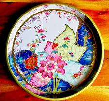 Faux China Tin Plate Tray Tobacco Leaf Pattern Met Museum Reproduction