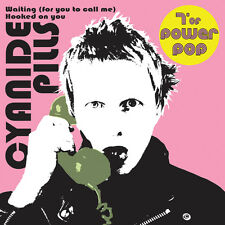 "CYANIDE PILLS 'Waiting (for you to call me)' 7"" White vinyl ltd die cut sleeve"