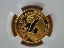 China 1993 1/4 oz Gold 25 Yuan Proof Panda - NGC PF68UC