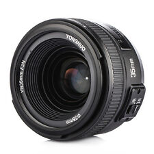 YONGNUO YN35mm F2 Lens Wide Angle Large Aperture AF MF for Nikon DSLR Camera New