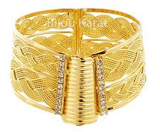 Trabzon Bilezik 24 Karat vergoldet Gold Armreif Armreifen Kelepce Altin Kaplama