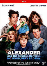 Alexander and the Terrible, Horrible, No Good, Very Bad Day (DVD 2015) Disney