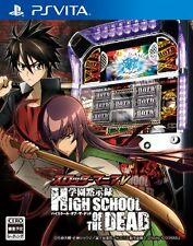 Used PS Vita Slotter Mania V: Gakuen Mokushiroku High School of the Dead