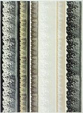 A/4 Soft Decoupage Paper Scrapbook Sheet Vintage Lace Edges