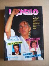 IL MONELLO n°39 1985 Gianna Nannini Laura D'Angelo Cristina Moffa [G432]