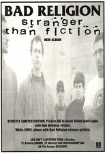 NEWSPAPER CLIPPING/ADVERT 17/9/94PGN28 BAD RELIGION : STRANGER THAN FICTION 7X5""