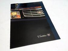 2001 Cadillac Catera Seville Eldorado Deville 2002 Escalade Preview Brochure