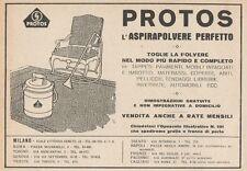 Z1451 PROTOS l'aspirapolvere perfetto - Pubblicità d'epoca - 1928 Old advert