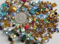 SWAROVSKI CRYSTAL 230 RHINESTONES AUSTRIA HUGE LOOSE LOT REPAIR JEWELRY CRAFTS