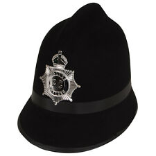 Traditional British Police Bobby PC Plod Fancy Dress Uniform Hat Party Accessory