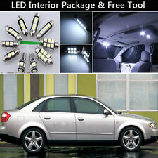 15PCS Canbus LED Interior Lights Package kit Fit 2002-2004 Audi A4 B6 SEDAN J1