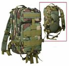 ROTHCO 2579 WOODLAND CAMO Medium Transport MOLLE Assault Pack Bag Backpack NEW