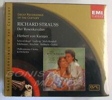 Strauss, DER ROSENKAVALIER - SCHWARZKOPF, LUDWIG - VON KARAJAN - 3 CD Sigillato