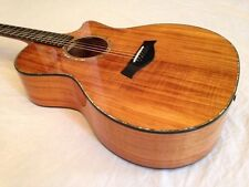Taylor All Koa K14-CE Acoustic/Electric Guitar, Six String, 2007