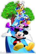Disney Mickey Mouse Minnie Donald Goofy Wall Sticker GIANT 33""