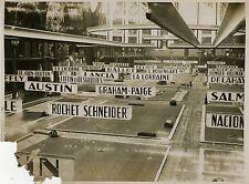 """""""SALON DE L'AUTOMOBILE au GRAND PALAIS 1931"""" Photo de Presse originale MEURISSE"""