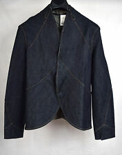 Three as Four Barney's New York Jacket Horseback Denim 3 Womens