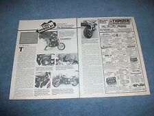 1985 Kawasaki ZL900 Eliminator Vintage Motorcycle Info Article