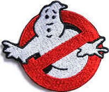 Iron On/ Sew On Embroidered Patch Badge Ghostbusters Ghost Busters Spook Scooter
