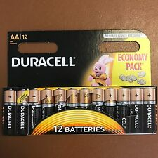 Duracell AA Long Lasting Power Alkaline Batteries Economy Pack 12 Batteries LR6