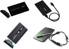 """CASE alluminio per Hardisk HDD 2.5 IDE USB 2,5"""" box contenitore esterno cover"""