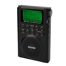 DEGEN Tragbare Digital Radios Recorder FM Stereo MW SW AM MP3 Player DSP 4GB Neu