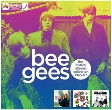 BEE GEES - THE FESTIVAL ALBUM COLLECTION  1965-67   3-CD`s