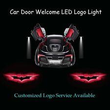 2 x Car Door Red Dark Knight Batman Logo Laser Projector Ghost Shadow LED Light