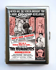 Humanoids Cigarette Case Wallet Business Card Holder sci-fi b-movie