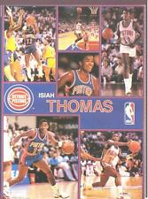 1990 Starline ISIAH THOMAS Pistons Monster Poster MINI Promo Piece RARE