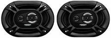 NEW (2) 6x9 Auto Speakers.Custom Sound.3 way.Pair.Vehicle Stereo System.4 ohm