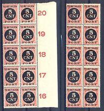 NEDERLAND # PORT 66 ( 20 x) ** PF -VARIETEIT -MET OPDRUK  STERK NAAR LINKS - @1