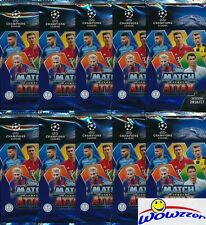 (50) 2016/2017 Topps Match Attax Champions League Soccer Sealed Packs-300 Cards!