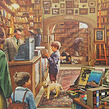 jigsaw puzzle 1000 pc Old Book Store Steve Crisp White Mountain Puzzles