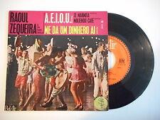 RAOUL ZEQUEIRA : A.E.I.O.U. - ME DA UM DINHERO AI ► EP / 45 ◄ PORT GRATUIT