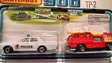 Matchbox TP 2 Fire and Police
