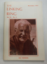 The Linking Ring Magazine Dai Vernon November 1973 062615R2