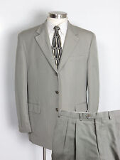 CHAPS Suit 42R 42 Taupe - Soft Lightweight Rayon Polyester -Pants W38 x L30 $250