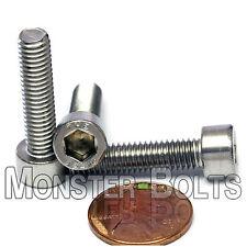 6mm x 1.0 x 25mm - Qty 10 - DIN 912 Stainless Steel SOCKET HEAD CAP Screws M6