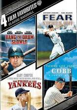 Classic Baseball: 4 Film Favorites (DVD, 2014, 2-Disc Set) - NEW!!